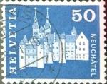 Stamps Switzerland -  Intercambio 0,20 usd 50 cent. 1968