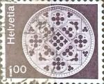 Sellos de Europa - Suiza -  Intercambio 0,20 usd 1 fr.  1974