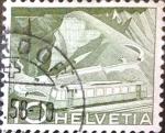 Sellos de Europa - Suiza -  Intercambio 0,20 usd 10 cent. 1949