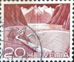 Sellos de Europa - Suiza -  Intercambio 0,20 usd 20 cent. 1949