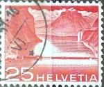 Sellos de Europa - Suiza -  Intercambio 0,20 usd 25 cent. 1949