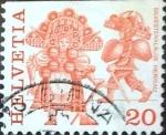 Sellos del Mundo : Europa : Suiza : Intercambio 0,20 usd 20 cent. 1977