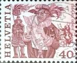 Sellos del Mundo : Europa : Suiza : Intercambio 0,20 usd 40 cent. 1977