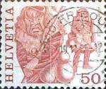 Sellos de Europa - Suiza -  Intercambio 0,20 usd 50 cent. 1977
