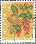 Stamps : Europe : Switzerland :  Intercambio 0,20 usd 20 + 10 cent. 1976