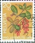 Sellos del Mundo : Europa : Suiza : Intercambio 0,20 usd 20 + 10 cent. 1976
