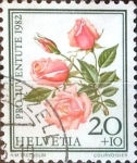 Stamps Switzerland -  Intercambio 0,20 usd 20 + 10 cent. 1982