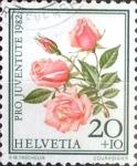 Sellos del Mundo : Europa : Suiza : Intercambio 0,20 usd 20 + 10 cent. 1982