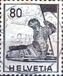 Sellos del Mundo : Europa : Suiza : Intercambio 0,20 usd 80 cent. 1941