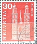 Stamps Switzerland -  Intercambio 0,20 usd 30 cent. 1960