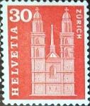 Sellos del Mundo : Europa : Suiza : Intercambio 0,20 usd 30 cent. 1960
