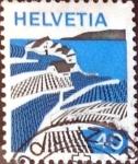 Sellos de Europa - Suiza -  Intercambio 0,20 usd 40 cent.  1973