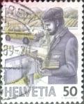 Sellos de Europa - Suiza -  Intercambio 0,35 usd 50 cent. 1987