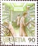 Sellos de Europa - Suiza -  Intercambio 1,00 usd 90 cent. 1986