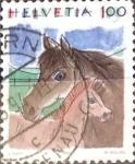 Sellos de Europa - Suiza -  Intercambio 0,80 usd 100 cent. 1993