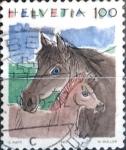 Sellos del Mundo : Europa : Suiza : Intercambio 0,80 usd 100 cent. 1993
