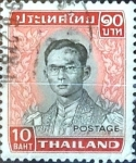 Sellos de Asia - Tailandia -  Intercambio 0,65 usd 10 b. 1972
