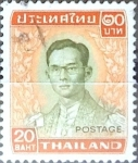 Stamps : Asia : Thailand :  Intercambio 1,10 usd 20 b. 1972