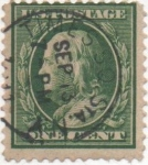 Sellos de America - Estados Unidos -  Y & T Nº 167