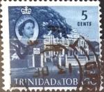 Stamps : America : Trinidad_y_Tobago :  Intercambio cxrf 0,20 usd 5 cent. 1960