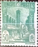Stamps : Africa : Tunisia :  Intercambio 0,20 usd 50 cent. 1940