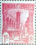 Stamps : Africa : Tunisia :  Intercambio 0,20 usd 1 fr. 1940