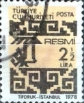 Stamps : Asia : Turkey :  Intercambio 0,20 usd 2,5 l. 1978
