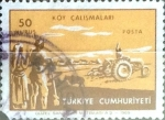 Stamps : Asia : Turkey :  Intercambio 0,20 usd  50 k. 1969