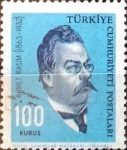 Stamps : Asia : Turkey :  Intercambio 0,20 usd  100 k. 1964