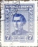 Sellos del Mundo : America : Uruguay : Intercambio 0,20 usd  7 cent. 1948