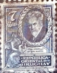 Sellos del Mundo : America : Uruguay : Intercambio 0,20 usd  7 cent. 1933