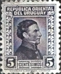 Stamps : America : Uruguay :  5 cent. 1943