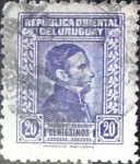 Sellos del Mundo : America : Uruguay : Intercambio 0,20 usd  20 cent. 1948