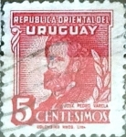 Sellos del Mundo : America : Uruguay : Intercambio 0,20 usd  5 cent. 1945