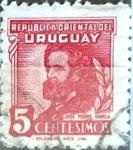 Sellos del Mundo : America : Uruguay : Intercambio 0,20 usd  5 cent. 1945