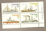 Sellos del Mundo : America : Canadá : Barcos diversos