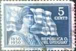 Sellos del Mundo : America : Uruguay : Intercambio 0,20 usd  5 cent. 1930