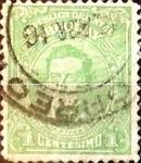Sellos del Mundo : America : Uruguay : Intercambio 0,20 usd  1 cent. 1913