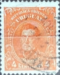 Stamps : America : Uruguay :  4 cent. 1915