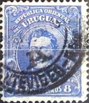 Sellos del Mundo : America : Uruguay : Intercambio 0,20 usd  8 cent. 1913