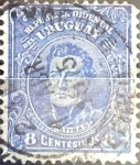 Sellos del Mundo : America : Uruguay : Intercambio 0,20 usd  8 cent. 1913