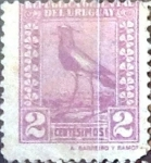 Sellos del Mundo : America : Uruguay : Intercambio 0,20 usd  2 cent. 1924