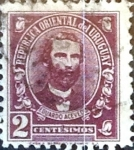 Stamps : America : Uruguay :  2 cent. 1945