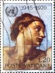 Sellos de Europa - Vaticano -  Intercambio cxrf 0,20 usd  20 l. 1970