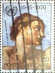 Sellos del Mundo : Europa : Vaticano : Intercambio 0,20 usd  20 l. 1970