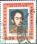 Sellos del Mundo : America : Venezuela : 25 cent. 1966