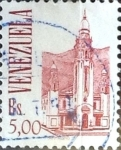 Stamps : America : Venezuela :  Intercambio 0,20 usd  5 b. 1993