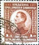 Sellos del Mundo : Europa : Yugoslavia : Intercambio 0,20 usd  1 d. 1923