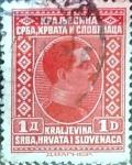 Stamps Yugoslavia -  Intercambio 0,20 usd  1 d. 1926