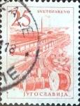 Sellos de Europa - Yugoslavia -  Intercambio 0,20 usd  25 d. 1961